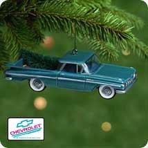 Chevrolet 1959 Xmas ornomant