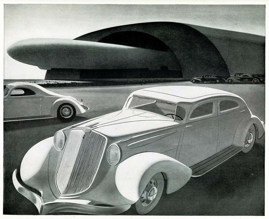 "Curbside Classic: 1935 Hupmobile J-521 Six ""Aerodynamic"" – Raymond ..."