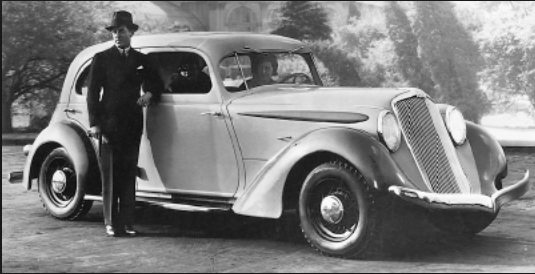 Hupmobile 1934 aerodynamic