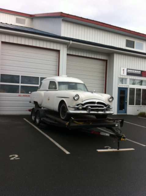 CC For Sale: 1954 Henney Junior Packard Ambulance | Curbside