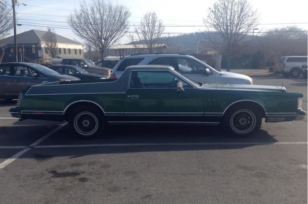 Lincoln Coninental Mark V Pickup