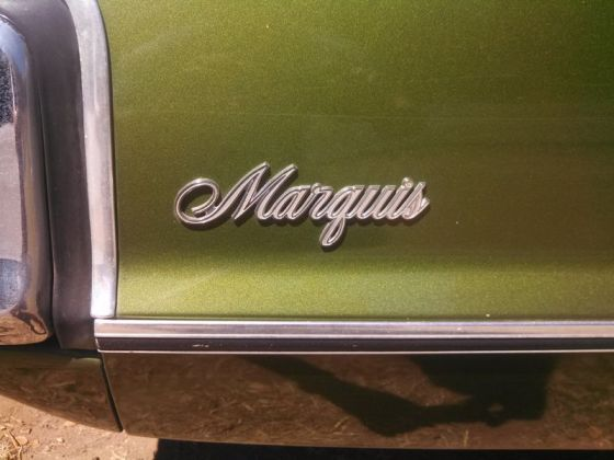 Mercury 1972 Marquis badge