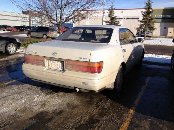 Toyota Crown rear
