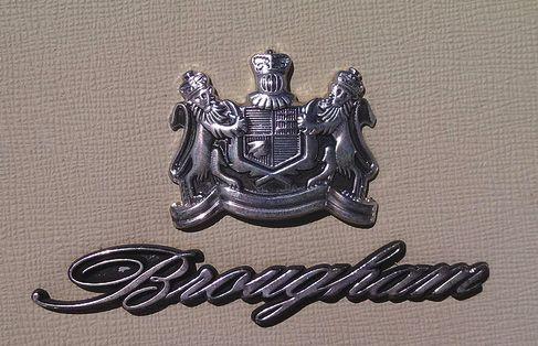 brougham badge