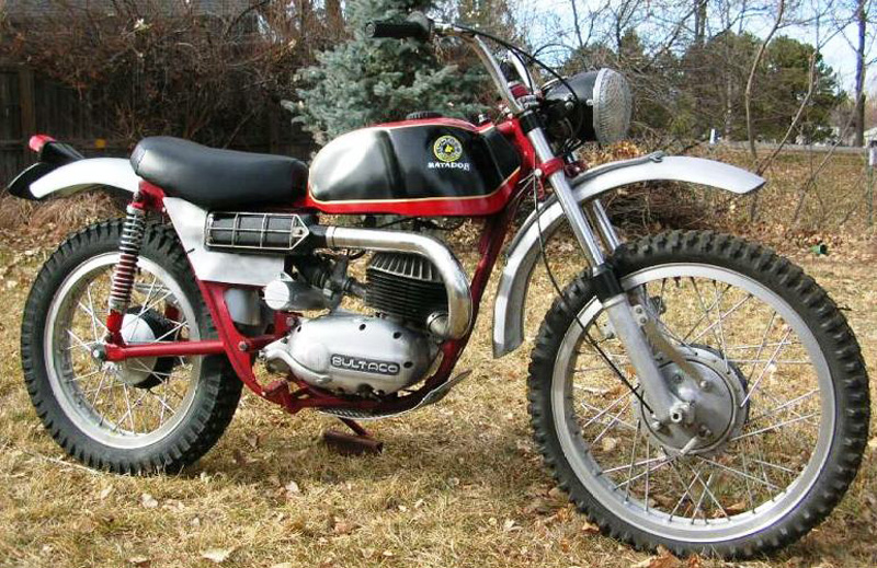 1966 Bultaco Matador 250 Mk 2 Not Mine Photo By Kellymoto
