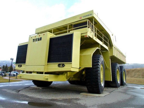 1973 Terex Titan 33-19