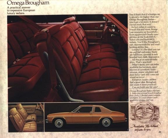 1977 Oldsmobile-Omega Brougham