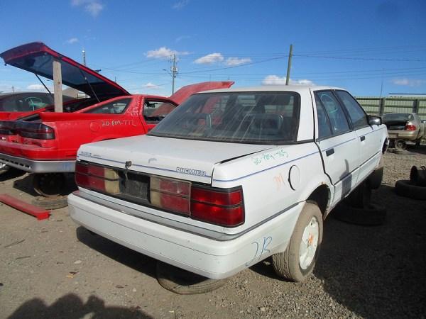 1989 Eagle Premier rear