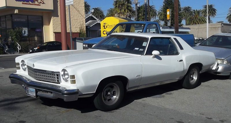 Curbside Capsule 1974 Chevy Monte Carlo Rocking That 70 S Styling Curbside Classic