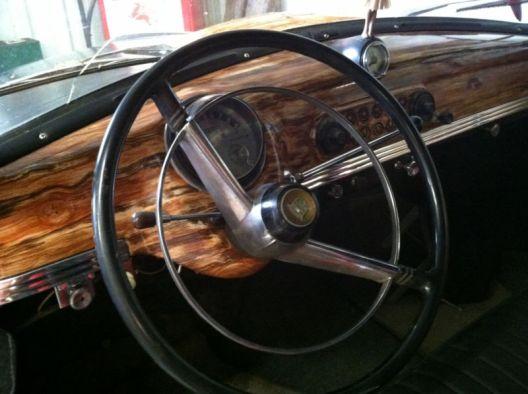 AMC Rambler 1950 wagon dash