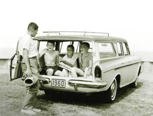 AMC Rambler  wagon thrid seat hemmings