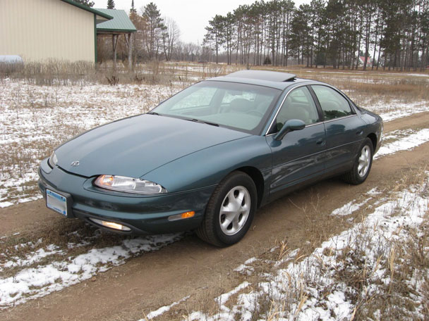 coal 1997 oldsmobile aurora to the rescue curbside classic coal 1997 oldsmobile aurora to the