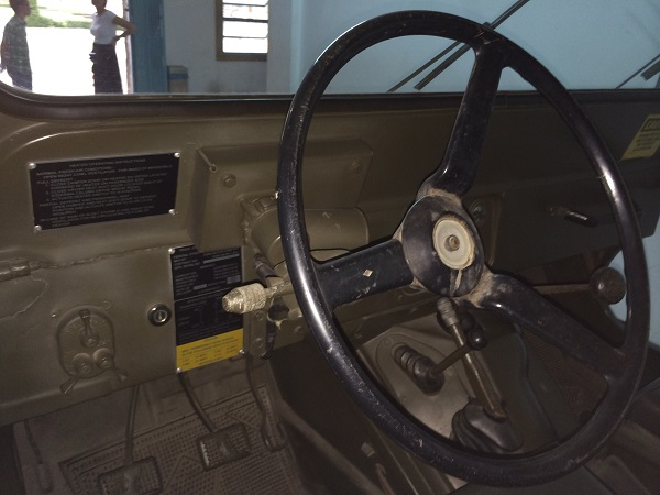 Jeep dash