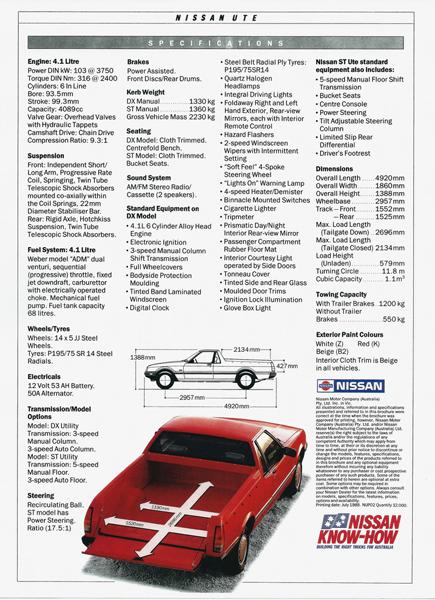 Nissan Ute ad 2