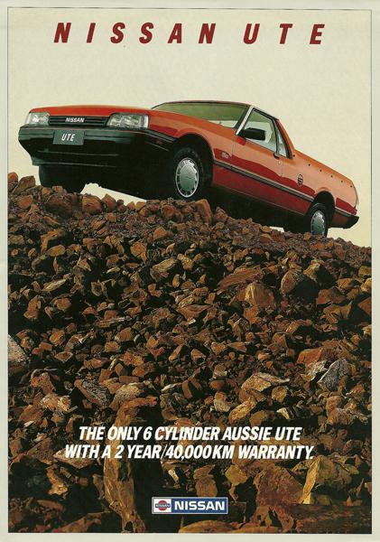 Nissan Ute ad1