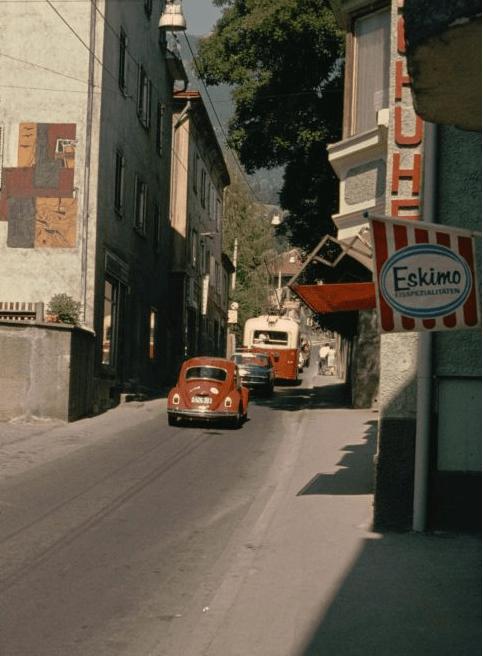 O Bus Innsbruck Hottinger gasse 1975