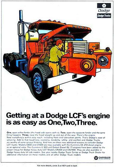 Dodge truck lcf