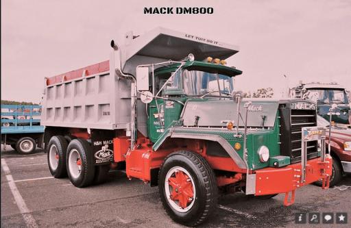 Mack DM 800 dump