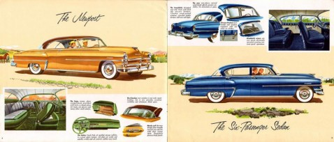 Truman 1953 Chrysler ad