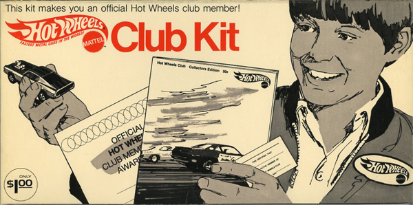 Hot Wheels Club Kit
