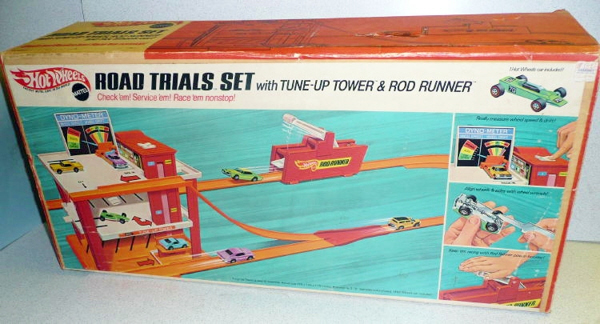 Hot Wheels Road Trials Set