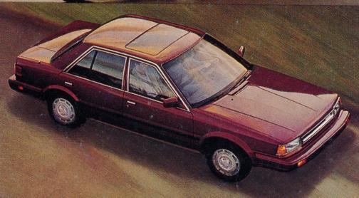 nissan_stanza_sedan_maroon_1987