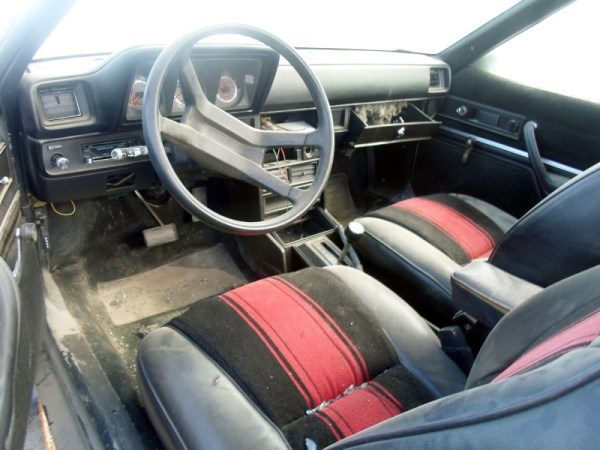 1986 Dodge Rampadge interior