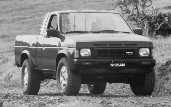 1986-Nissan-Hardbody-Pickup-Front-Three-Quarter