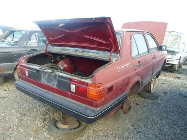 1987 Volkswagen Fox rear