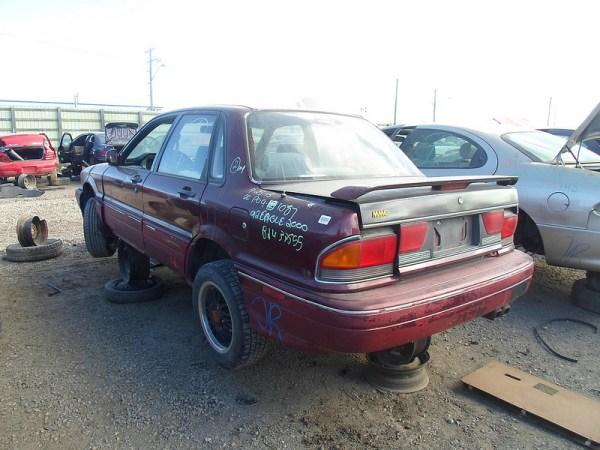 1992 Eagle 2000 GTX rear