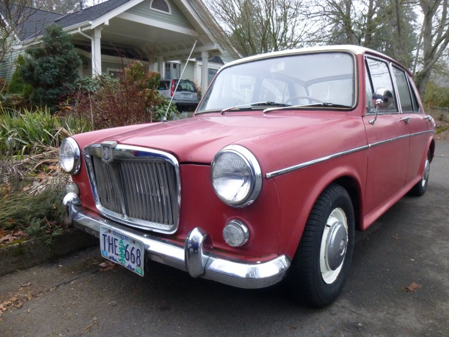 Curbside classic 1965 mg1100 ado16 bmc s greatest hit for Ride now motors monroe nc