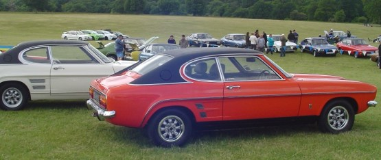 Ford Capri side on