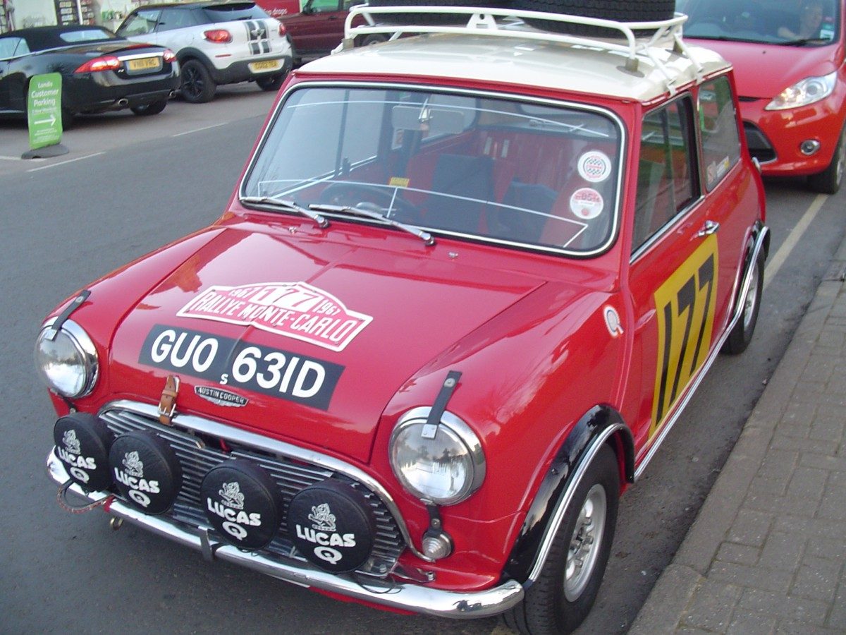Cc Outake 1966 Austin Mini Cooper S Direct From Monte Carlo