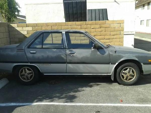 Mitsubishi Tredia turbo side