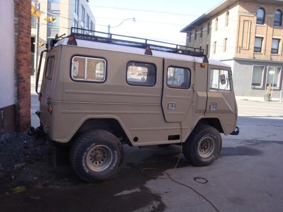 Volvo C201 side