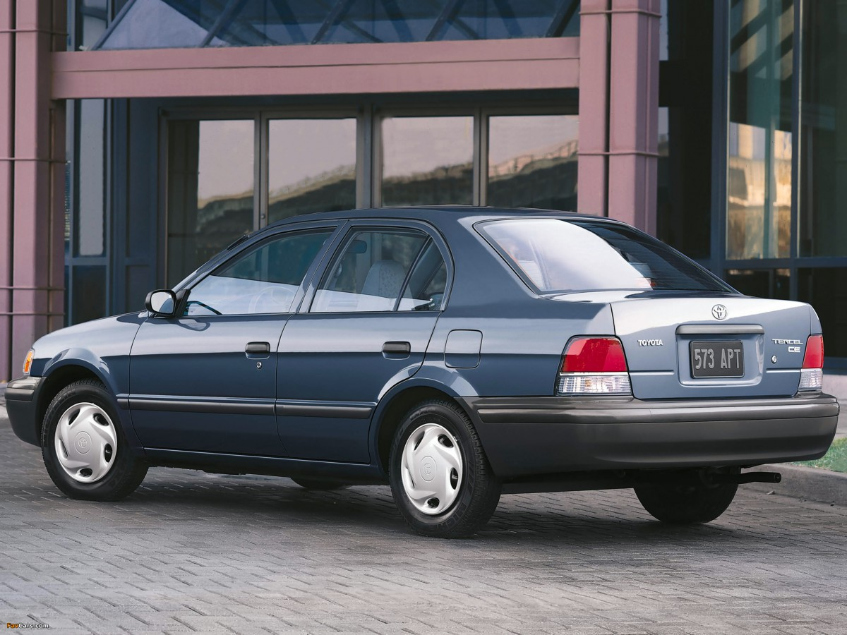 Curbside Classic 1995 Toyota Tercel Last Of The Mohicans