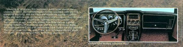 1972 Ford Mustang Interior Crop 2