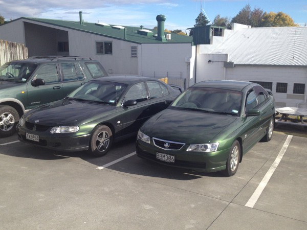 VX and VY Commodore sedans