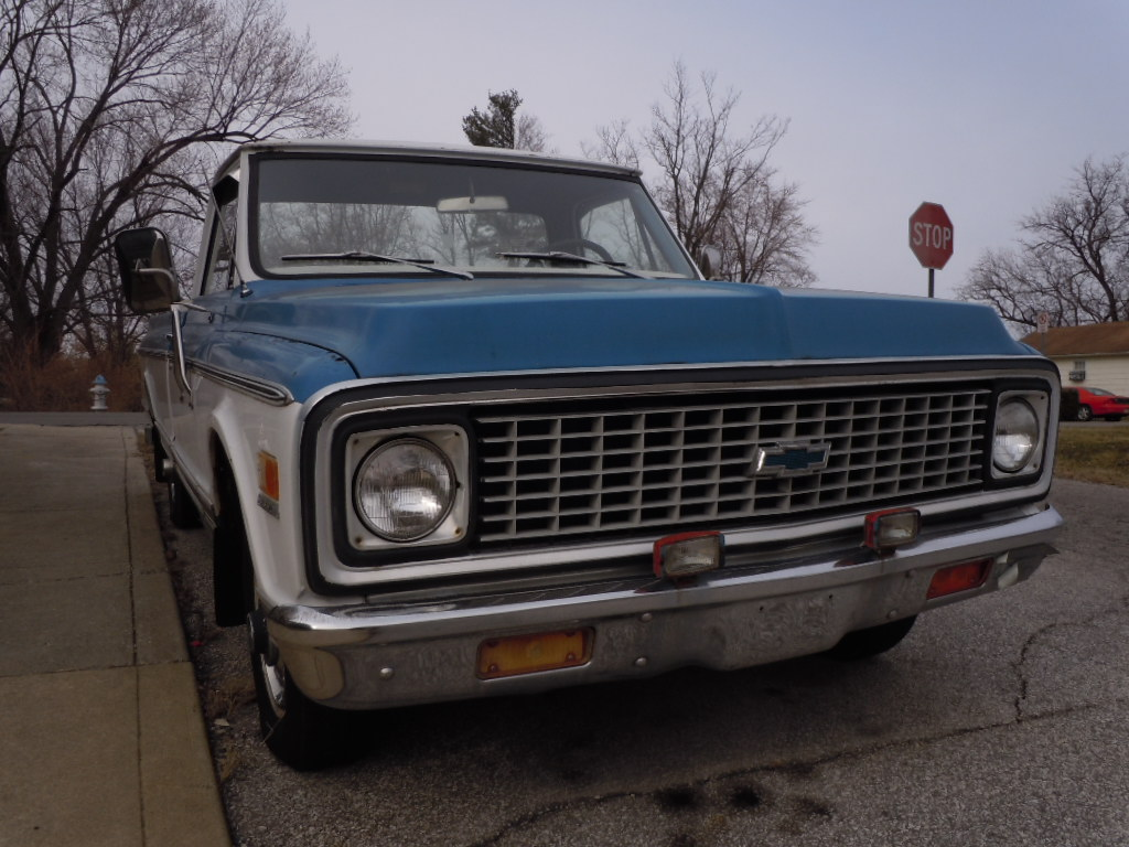Curbside Classic: 1971 Chevy C10 – Still Playing It Cool