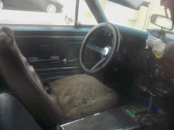 67 Camaro interior