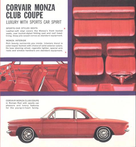 Corvair 1960 Monza 6