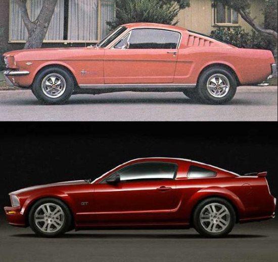 Mustang 1965 sprots roof crop-vert