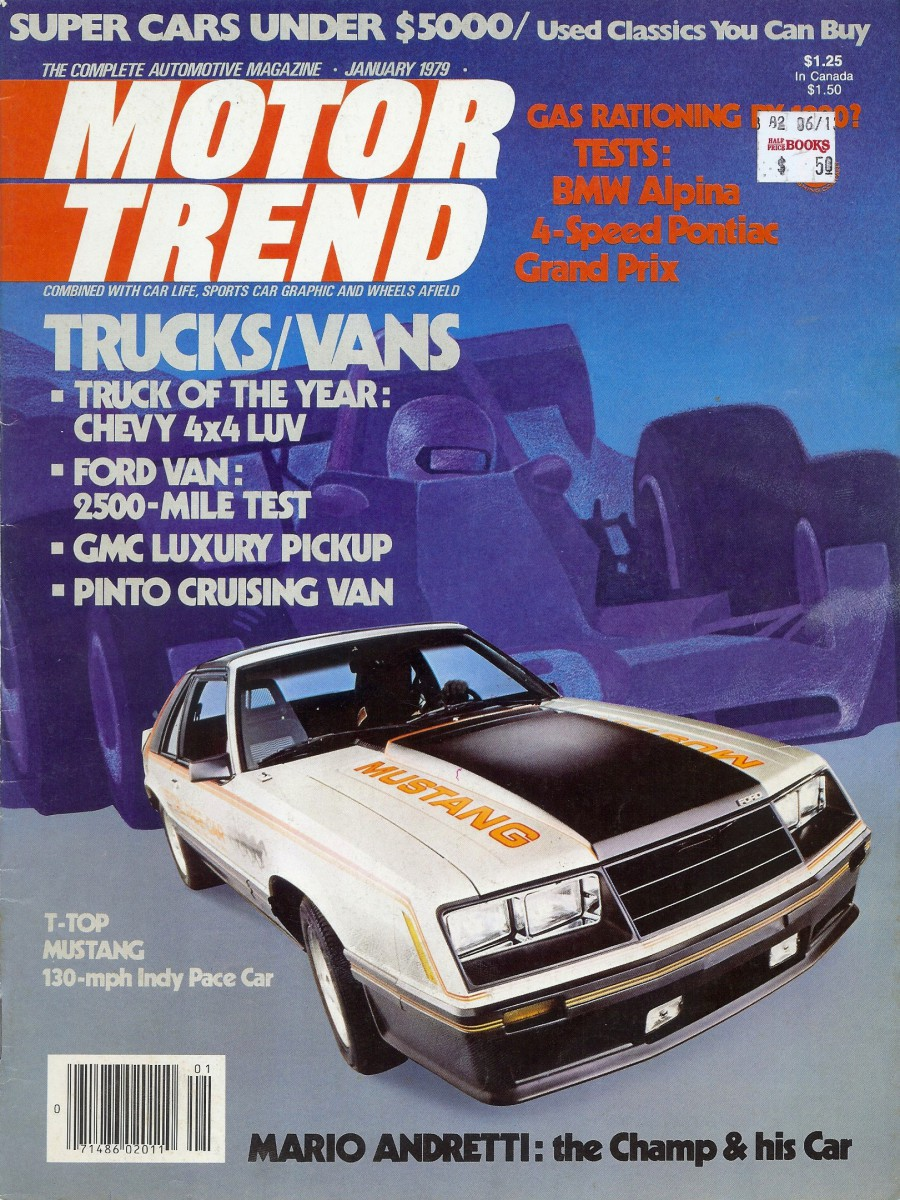 Vintage Scoop: 1979 Mustang Indy Pace Car – The 302 Wakes Up