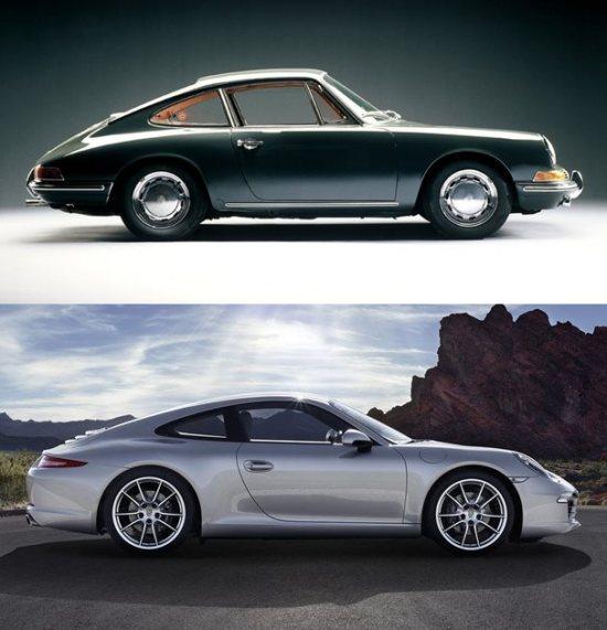Porsche 911 1966-vert