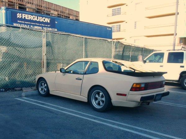 Porsche 944 rear