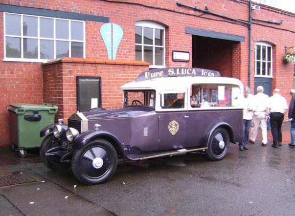 RR ice cream truck