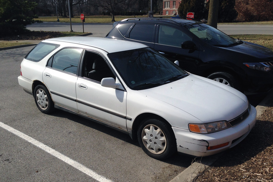 Curbside classic 1996 honda accord wagon you might for Honda accord station wagon