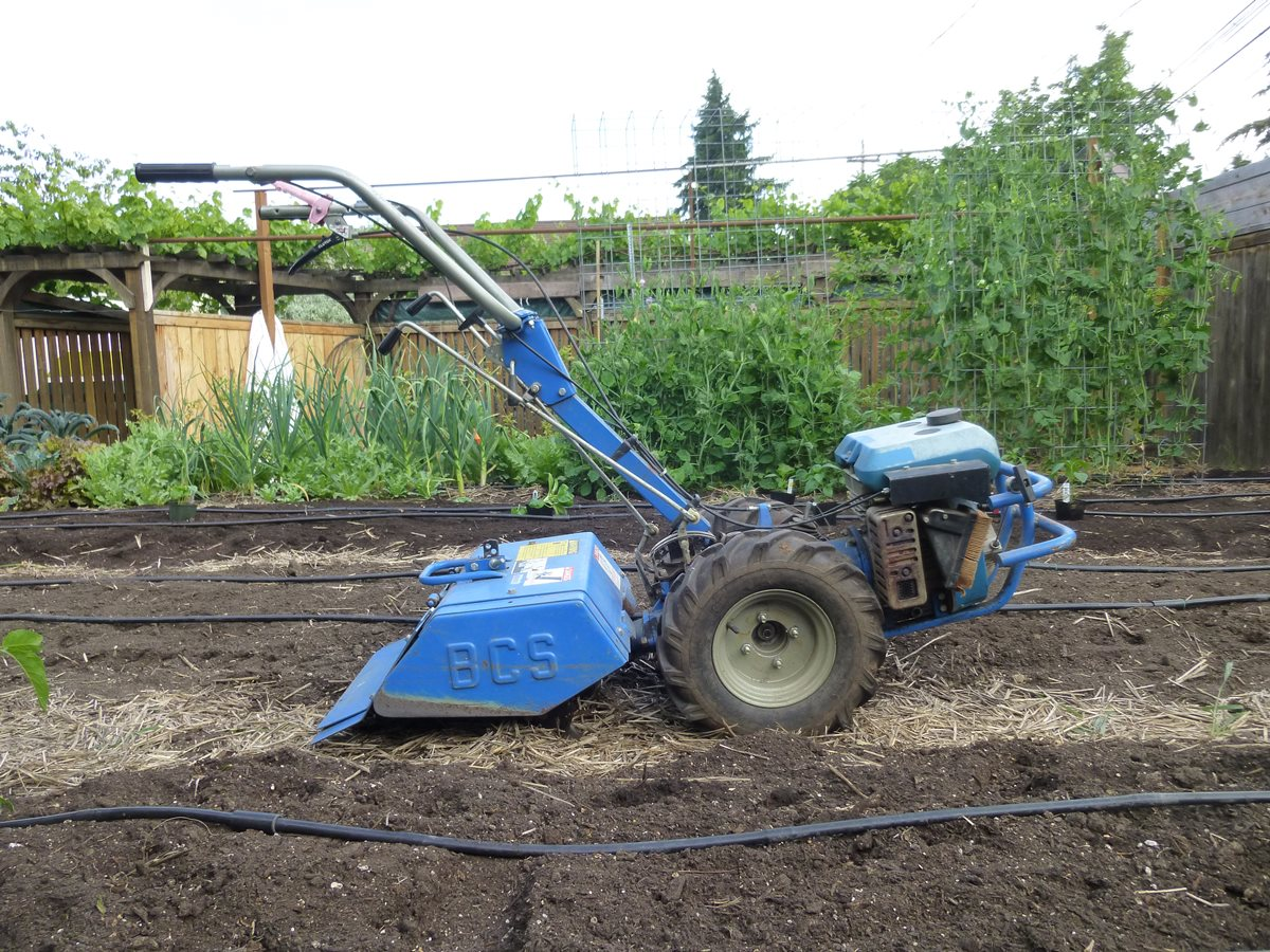 To Two Wheel Tractor Rototiller : Gardenside classic bcs two wheel tractor my