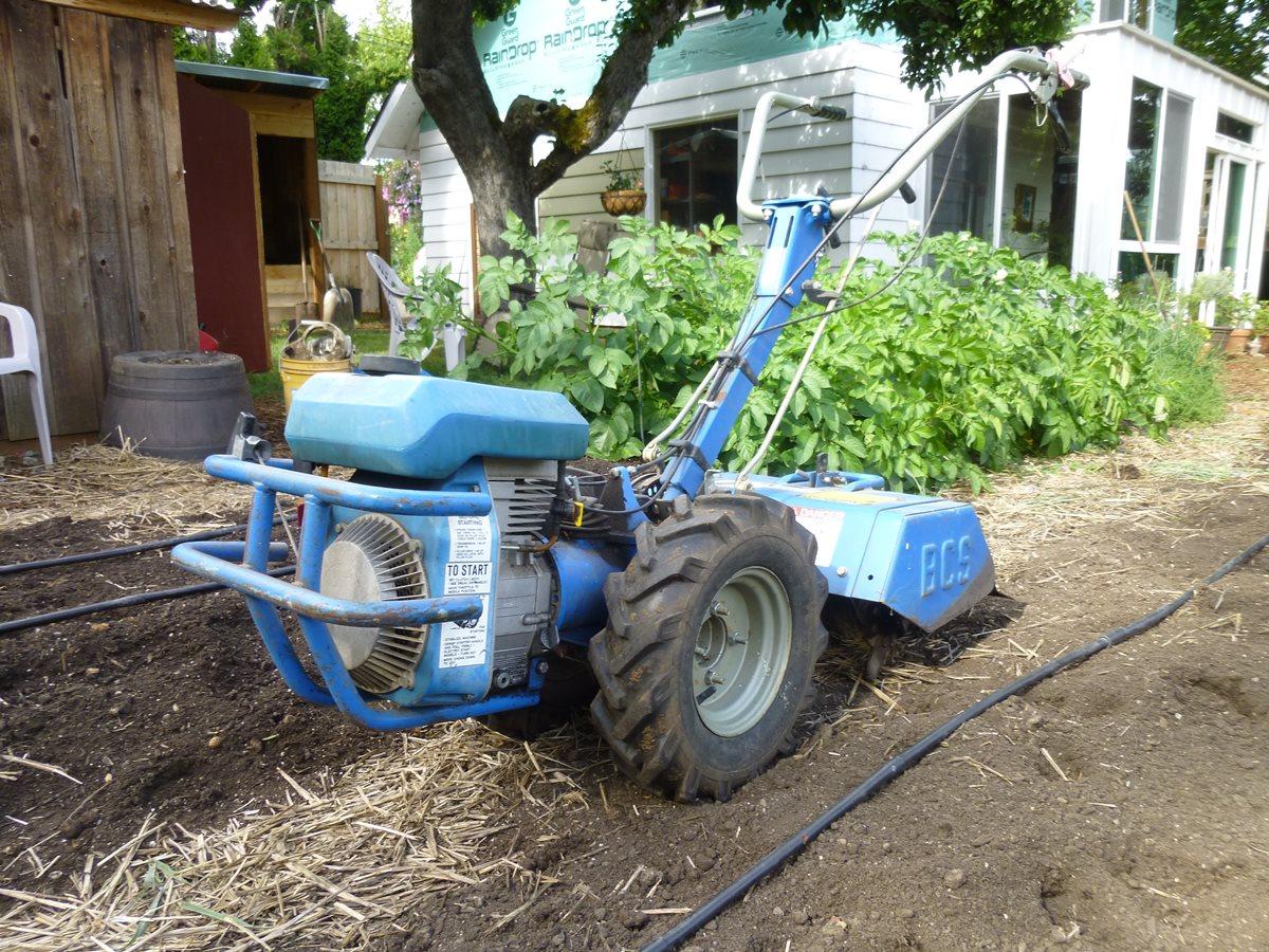 Gardenside Classic: 1988 BCS 715-6 Two-Wheel Tractor – My