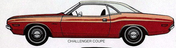 Dodge Challenger 1971 coupe